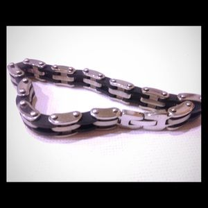 Jewelry - Stainless steel bike chain bracelet